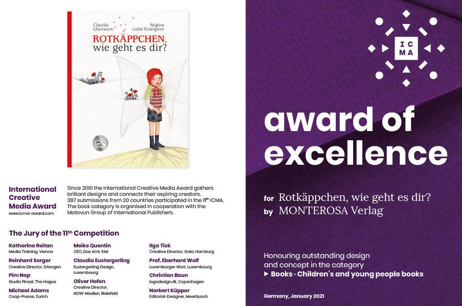 Award of excellence Book
