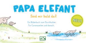 Karte Papa Elefant